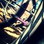 valve on bike purple